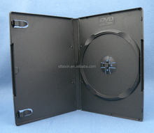 Shantou 14mm dvd covers black recycled PP material