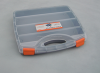 handheld plastic storage cable storage case