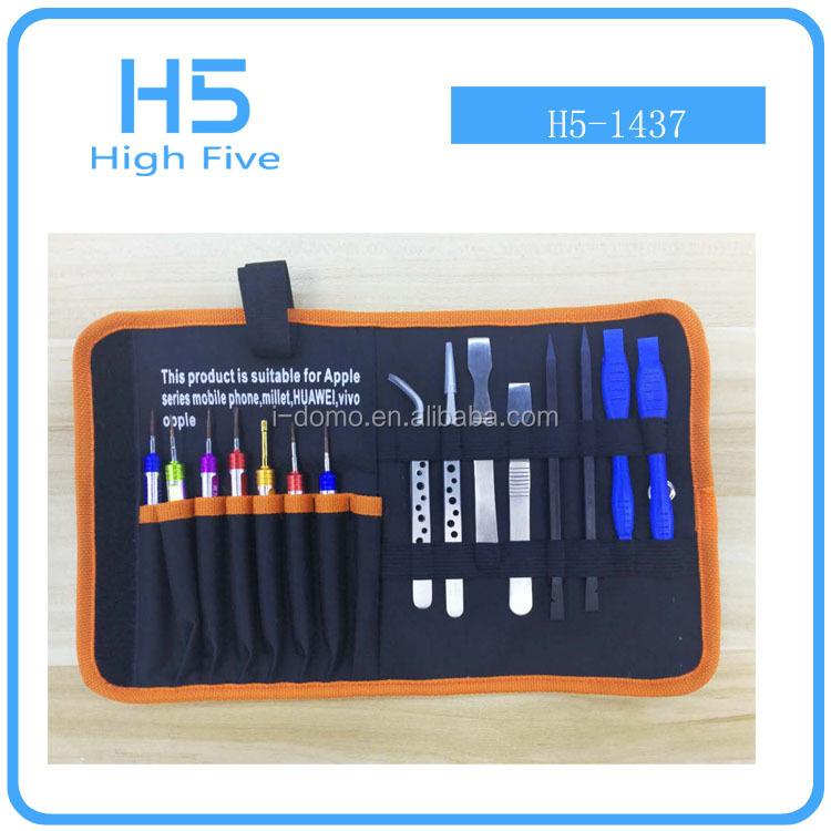 NEW arrival design high quality 15pcs hardware household maintenance hand tools for iPhone 7 7plus,apple watch,laptop