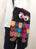 SHIPPING FREE WORLDWIDE Patchwork Owl Sling Cross Body Bag