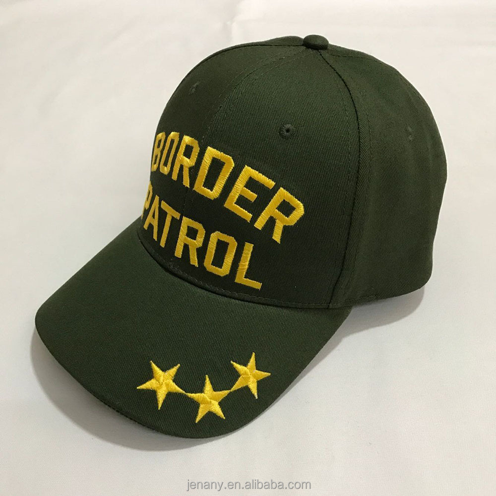 Professional Manufacturer Baseball Hat Army Green Mens Head Wear Caps With Emb
