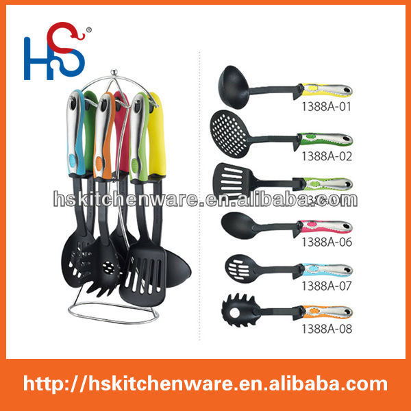7-piece fashion design kitchen accessory set 1388A
