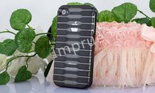 For Iphone4g 4s High Quality Stripe Hard PC Cover