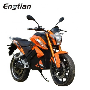 High speed Super Power 8000w Electric Roadster Motorcycle for Adult Electric Motorcycle