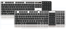 Hot selling 2017 amazon for Keyboard for 105 keys keyboard with keyboard mouse combo wireless