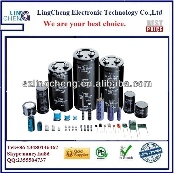 box-type metalized film capacitor 1uf 275v pitch=27.5
