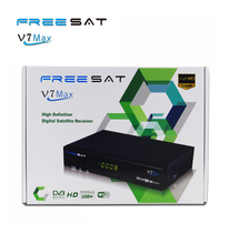 Hot FTA Freesat V7 Max Satellite TV Receiver DVB-S2 1080P HD TV Decoder V7 Max