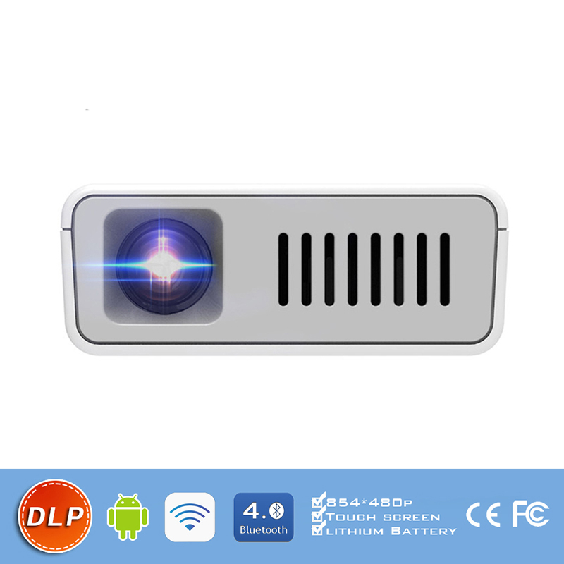 DH-A380 854*480P smart phone projector with Removable <strong>battery</strong>