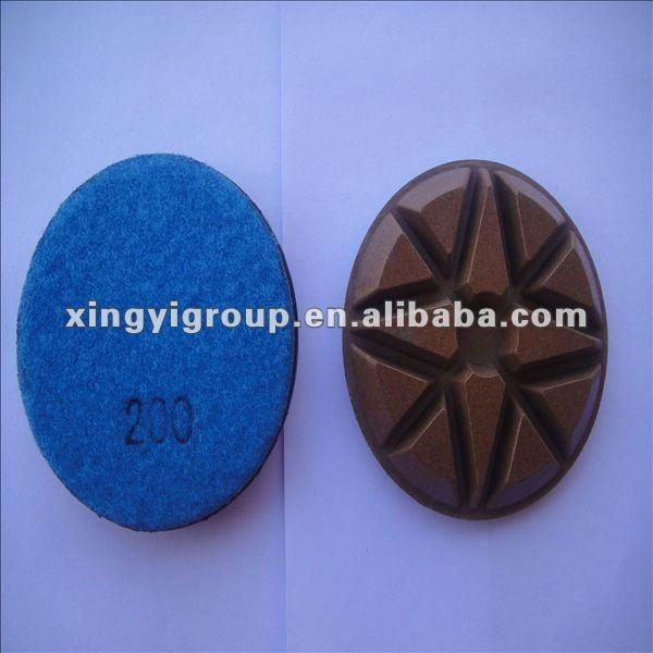 stone grinding pads for polishing machine