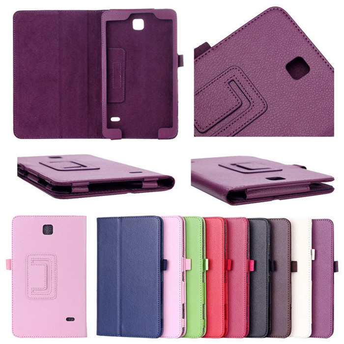 7 inch PU Leather Stand Folding Folio Shockproof Tablet Cases Cover Pouch for Samsung galaxy Tab 2 P3100