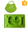 Healthy Feeding Baby Bib Silicone Manufacturer With Lovely Qnimal Patterns