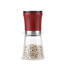 durable and convenient 4 OZ salt and pepper mills with ceramic grinder by hand