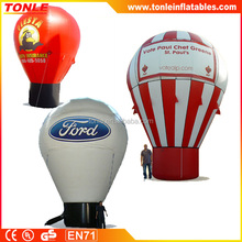 custom advertising balloon, giant inflatable rooftop balloon, large custom ground balloons