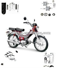 Chinese Cub V80 Spare Parts and Accessories