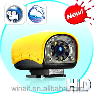 2016 Factory HD Waterproof Sport Camera / HD Mini Sport DV 720p Manual / Action Camera With accessories