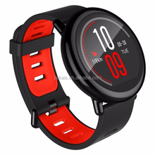 Red and Black Fashion Waterproof Smartwatch Fitness Tracker Pedometer GPS Running Heart Rate Monitor Xiaomi Amazfit Smart Watch