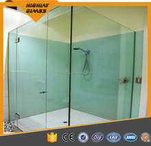 Laminated glass dimmable smart PDLC film,tempered glass bathroom partitions/electric privacy glass