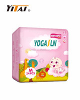 Hot Sale Second Grade Good Absorption Wholesale Baby Diaper Made in China