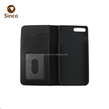5.5 inch sublimation wallet cell phone flip case card holder for phone case