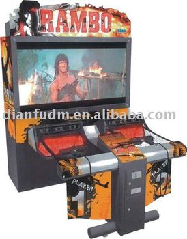 amusement simulator shooting game machines-Rambo