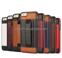 ultra thin slim card-slot cell phone leather case for iphone 6 6S