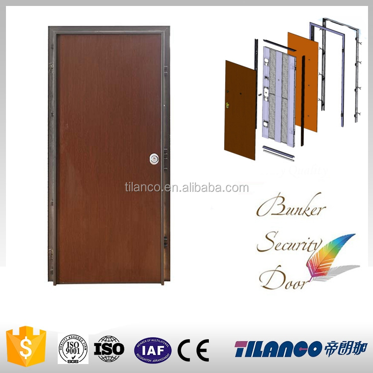high quality well design melamine door with frame