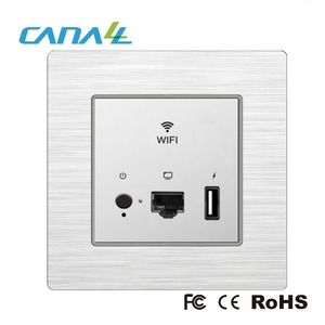 Convenient Installation POE 100~220V 50/60Hz Supply Mini Wireless Wifi Router and Access Point for Hotel/Home/Conference Room