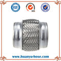 double bellows flexible pipe