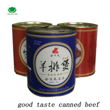 yummy food in china halal canned mutton and beef and fish for luncheon