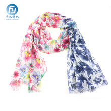 New design polyester printed light weight scarf