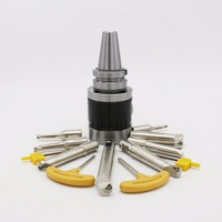 CNC Tools High Quality BT40 NBH2084 Micro Boring Cutters Boring Heads Sets