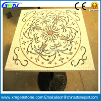 Brightly Top Granite Marble Tile Mosaic Table Top