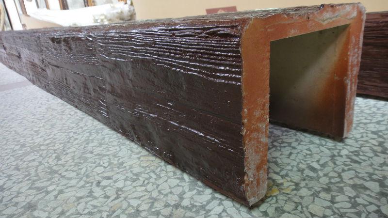 2675 pu dekorative faux holzbalken f r decken dekoration u form standard gr e anderes bauholz. Black Bedroom Furniture Sets. Home Design Ideas