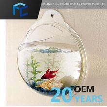 Acrylic Wall Sphere Fish Tank