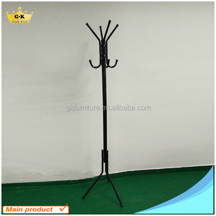 Metal Durable And Beautiful Colors Tree Shaped Coat Rack With Plastic Parts