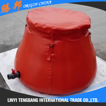 inflatable 1000 liters oil tank water bladder container for homes