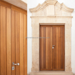 New product ideas 2018 wooden double door designs panel door for house in Kerala