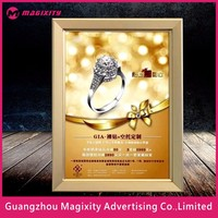 small light box led advertising light box dresses