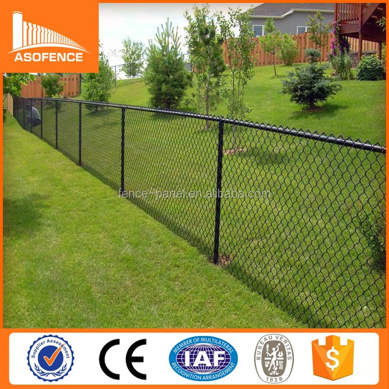 Alibaba China best price temporary chain link fence for sale/ removable chain link fence/ chain link wire fencing