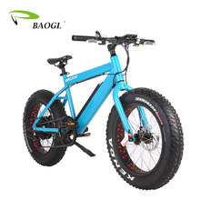 Factory supply 1000w 48V 26 inch high quality e bicycle electric fat tire mountain bike