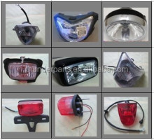 Motorcycle headlight,head lamp,motorcycle tail light,parts for EN125-2A,AN125,GN125H,AX100,AG100,GS125,INTRUDER,YES125