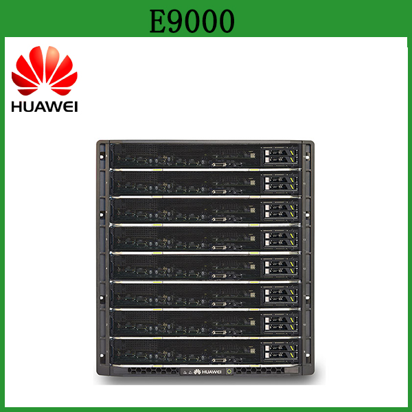 Original HUAWEI Server E9000 64 processor Cloud computing 12U Blade Server with 16 slots