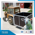 Mytestheavy duty animal transport trailer