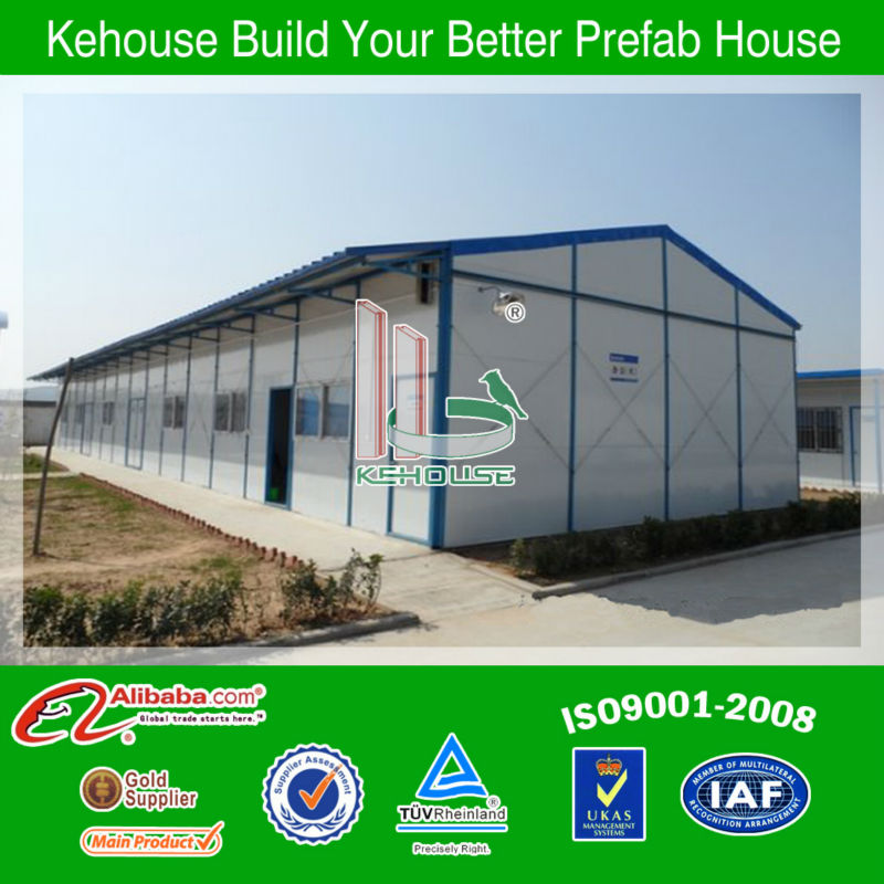 portable modular steel structure prefabricated house bamboo