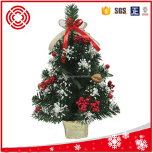 Indoor /Outdoor mini decorative christmas tree
