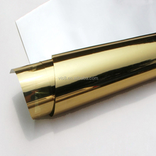 UV protective self adhesive gold color window film Heat Insulation Function building film