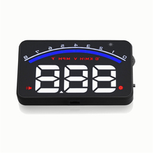 2017 New Product Hot Selling Car Auto Electronics M6 OBD2 HUD RPM Meter for Universal cars