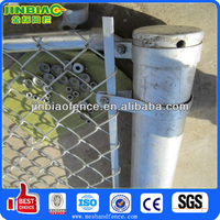 2014 popular galvanized steel fence poles