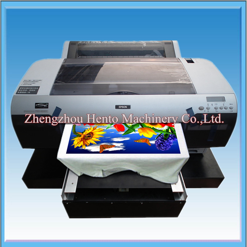 Digital T-shirt Printing Machine / Automatic T-shirt Printer Price
