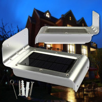 16LED Security Solar Power PIR Human Body Motion Sensor Lamp Outdoor Light 46 Led Solar Light
